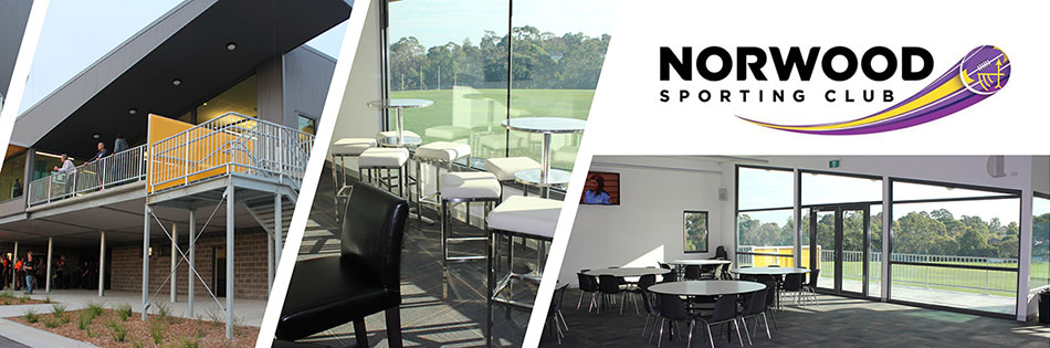 Norwood Sporting Club is Now Taking Bookings!